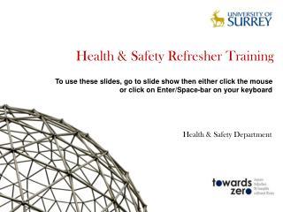 Health & Safety Refresher Training