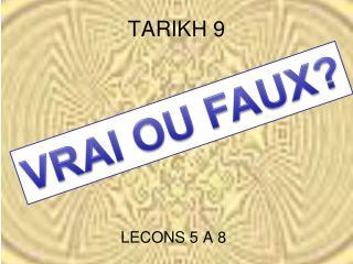 TARIKH 9