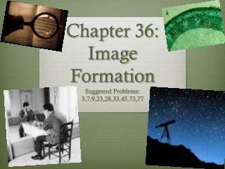 Chapter 36: Image Formation