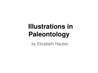 Illustrations in Paleontology