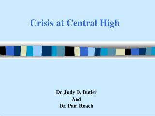Crisis at Central High