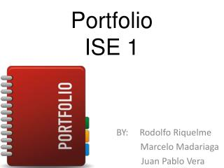 Portfolio ISE 1