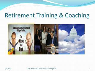 Retirement Training & Coaching