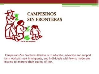 2013  Dia  Del  Campesino  Health and Information Fair