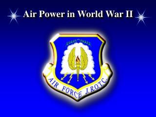 Air Power in World War II