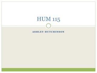 HUM 115