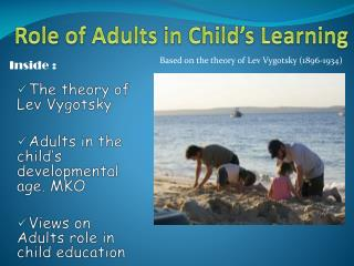 Role  of  Adults in Child's Learning
