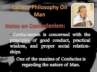 Eastern Philosophy  On  Man