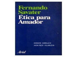 EDINSON  CARRILLO D JHON FREDY  VILLANUEVA
