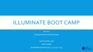 Illuminate Boot Camp