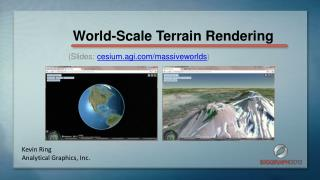 World-Scale Terrain Rendering