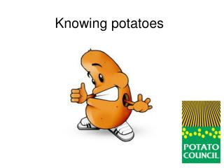 Knowing potatoes