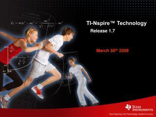 TI-Nspire� Technology