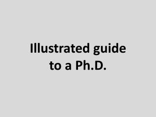 Illustrated guide to a Ph.D.