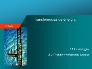 Transferencias de energía