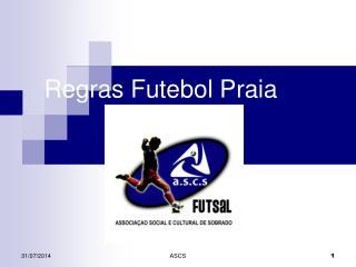 Regras Futebol Praia