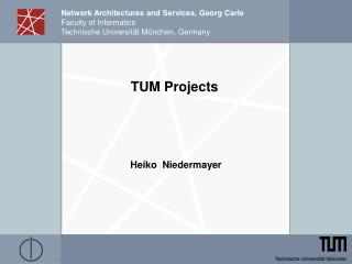 TUM Projects