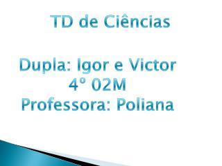 TD  de Ciências