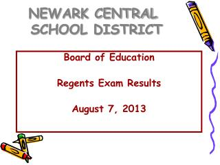 NEWARK CENTRAL    SCHOOL DISTRICT