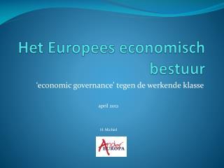 Het Europees economisch bestuur