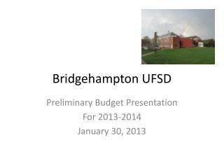 Bridgehampton UFSD