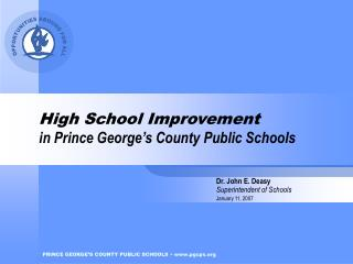 High School Improvement in Prince George's County Public Schools