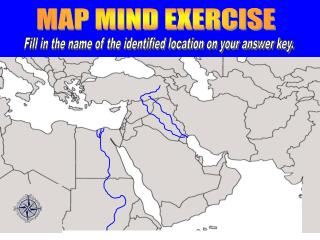 MAP MIND EXERCISE