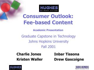 Consumer Outlook: Fee-based Content Academic Presentation