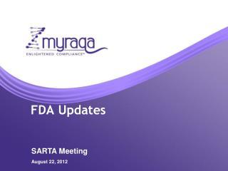 FDA Updates