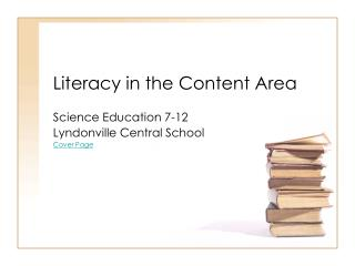 Literacy in the Content Area