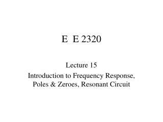 E  E 2320