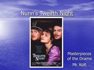 Nunn's  Twelfth Night