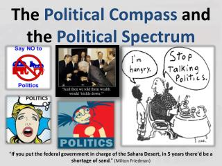 The  Political Compass  and the  Political Spectrum