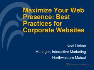 Maximize Your Web Presence: Best Practices for Corporate Websites