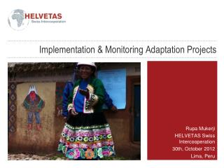 Implementation  &  Monitoring  Adaptation Projects