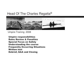 Head Of The Charles Regatta ®