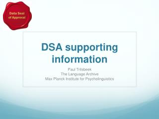 DSA supporting information