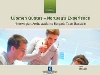 Women Quotas – Norway's Experience
