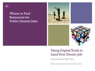 Using Digital Tools to Land Your Dream Job