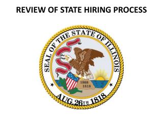 REVIEW OF STATE HIRING PROCESS