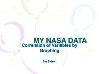 MY NASA DATA