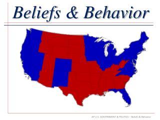 Beliefs & Behavior