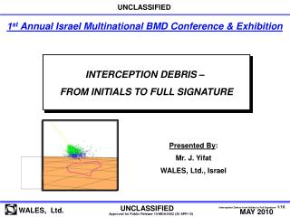 INTERCEPTION DEBRIS �  FROM INITIALS TO FULL SIGNATURE