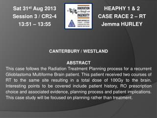 HEAPHY 1 & 2 CASE RACE 2 – RT Jemma  HURLEY