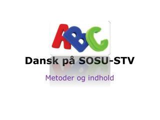Dansk p� SOSU-STV