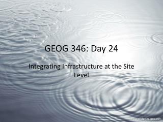 GEOG 346: Day 24