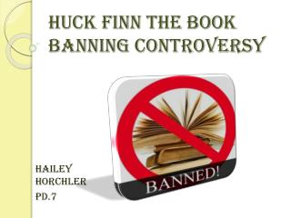 Huck Finn The Book Banning Controversy