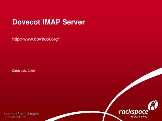 Dovecot IMAP Server