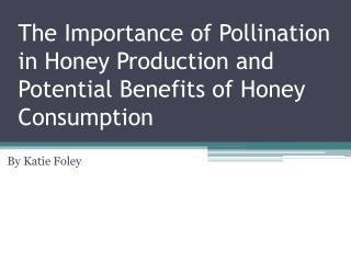 The Importance of Pollination in Honey Production and Potential Benefits of Honey Consumption