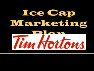 Ice Cap  Marketing Plan